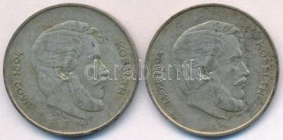 1947. 5Ft Ag Kossuth (2x) T:2- ph., karc, patina