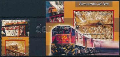Locomotive + block, Mozdony + blokk