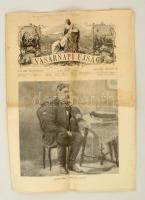 1917 A Vasárnapi Újság március 4-i száma Arany János születésének 100-ik évfordulójára, benne Arany arcképeivel, szobraival.