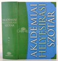 Akadémiai helyesírási szótár. Szerk.: Bárány Margit. Bp., 2009, Akadémiai Kiadó. Kiadói kartonált papírkötés. Jó állapotban.