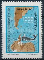 1981 Forgalmi; Bálnák védelme bélyeg Mi 1528