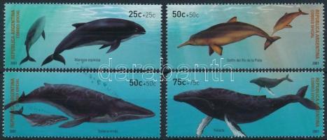 2001 Bálnák sor Mi 2678-2681