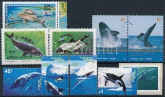 1993-2009 Tengeri állatok motívum 3 db sor + 2 db önálló érték