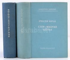 Stelczer Árpád: Cseh-magyar, magyar-cseh szótár. Kisszótár sorozat. Bp., 1967, Terra. Kiadói egészvászon kötés. Jó állapotban!