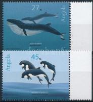 Bálna ívszéli sor Whales margin set