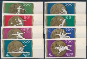 1969 Olimpiai érmesek (II.) vágott ívszéli sor (3.200)