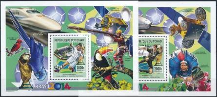 2012 2014-es labdarúgó-világbajnokság, Brazília blokksor Mi 468-733 + blokk 474 A -475 A