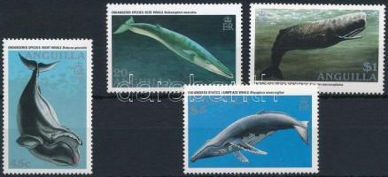 1995 Veszélyeztetett állatok: Bálnák sor Mi 953-956