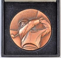 Skócia 1993. Aberdeen város - Doug Sanders Nemzetközi Junior Golf Bajnokság Br emlékplakett eredeti tokban (60mm) T:1- Scotland 1993. City of Aberdeen - Doug Sanders International Junior Golf Championship Br plaque in original case (60mm) C:AU