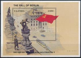 50th anniversary of World War II block, A II világháború 50. évfordulója alkalmából blokk