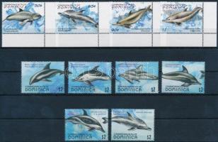 2009 Delfin 2 db sor Mi 3977-3980 + 3981-3986