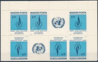 1979 Emberi jogok 9 db csíkpár (az 1. és 2. fordított csík együtt) (5.400)
