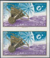 1967 Vénusz-4 vágott ívszéli pár (3.000)