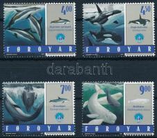 1998 Óceánok éve; Bálnák sor Mi 334-337