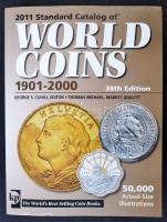 Standard Catalog of World Coins, 1901-2000, 38th edition, Krause Publications, 2010. Használt, de újszerű állapotban