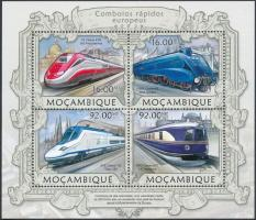2013 Nagysebességű vonatok kisív Mi 6324-6327