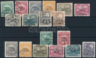 1919 18 klf forgalmi bélyeg