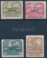 1919 4 klf forgalmi bélyeg Mi 78-79 I, 81 I, 84 I