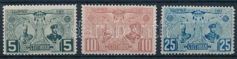 1903 20 éve a uralkodik I. Ferdinánd herceg sor Mi 66-68
