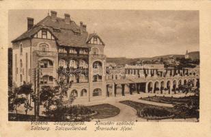 Ocna Sibiului, salt water spa, hotel, Vízakna, Sósgyógyfürdő, Kincstári szálloda
