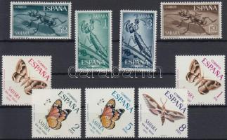 1965-1970 Butterfly set + Insect set, 1965-1970 Rovar sor + Lepke sor