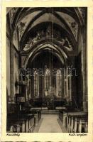 Keszthely, katolikus templom, belső (fa)