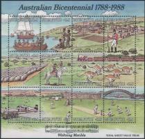 200 éve gyarmatosították Ausztráliát blokk Australia colonialism block