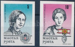 1989 Bélyegnap (62.) - Vöröskereszt (VII.) vágott sor (3.000)