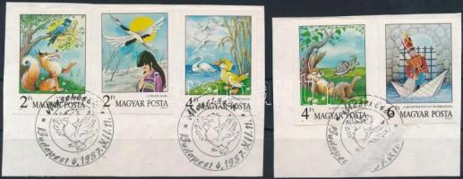 1987 Mese (VI.) - Mesehősök vágott sor (3.500)