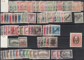 1918-1919 87 klf bélyeg berakólapon