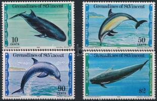 Marine animals set Tengeri állatok sor