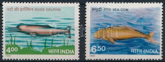 1991 Tengeri állatok sor Mi 1291-1292