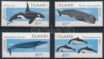 1999 Bálnák, delfinek sor Mi 905-908