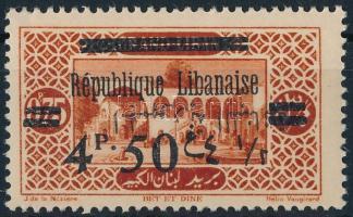 1928 Mi 128 fordított arab felülnyomás / inverted Arabic overprint