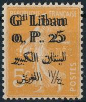 1924 Mi 24 kettős felülnyomással / double overprint