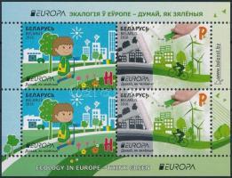 Europa CEPT, Környezettudatosság blokk Europa CEPT, Environmental Awareness block