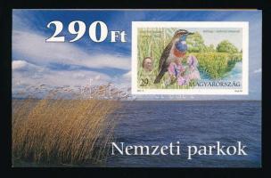 2000 Nemzeti parkjaink (III) 2 klf bélyegfüzet (5.000)