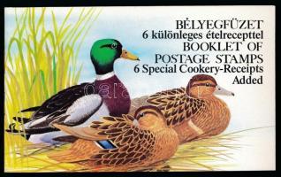 1988-1989 Récék német és angol nyelvű bélyegfüzetek + felülnyomott változatuk (16.000)