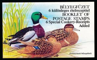 1989 Récék felülnyomattal angol és német nyelvű bélyegfüzet (11.000)