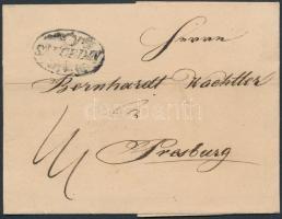 1836 Portós levél SZEGEDIN