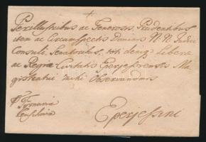 1762 Levél (PRESBURG)