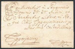 1762 Levél PRESBURG