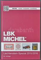 Michel Liechtenstein speciál katalógus 2015/2016 újszerű állapotban