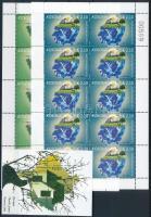 Europa CEPT, Környezettudatosság kisív sor + blokk Europa CEPT, Environmental awareness mini sheet set + block