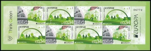 2016 Europa CEPT, Környezettudatosság bélyegfüzet MH 22 (Mi 1348-1349 Do, Du)