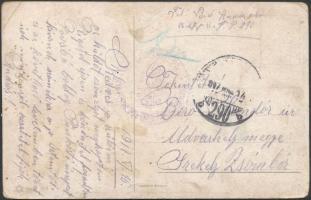 "Austria-Hungary field postcard, Tábori posta képeslap ""TP 290 b"""