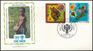 Nemzetközi gyermekév sor FDC-n International Children Year set on FDC