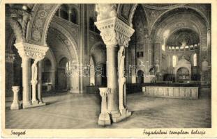 Szeged, Fogadalmi templom, belső