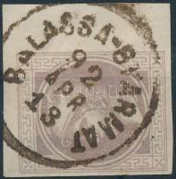 1892 Hírlapbélyeg / Newspaper stamp BALASSA-GYARMAT