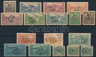 Debrecen II. 1920 17 klf érték garancia nélkül (**18.250)